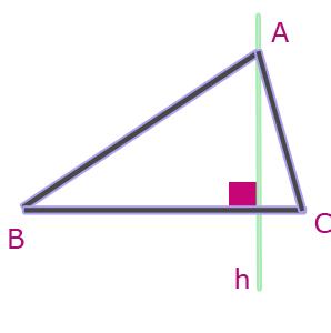 quelconque pour un triangle